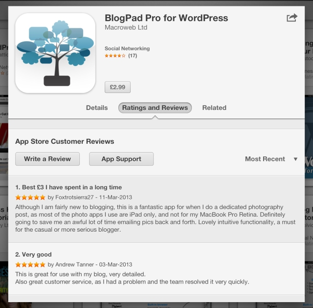 BlogPad Pro reviews