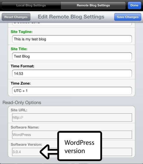 find your WordPress version
