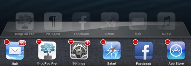 ipad how to close an app