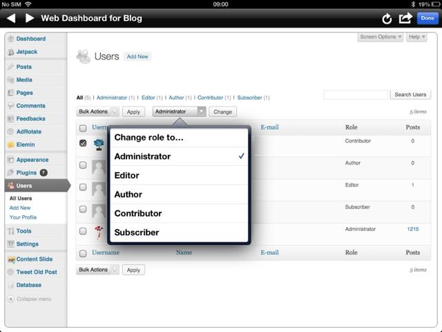 Update Blog Settings in BlogPad Pro