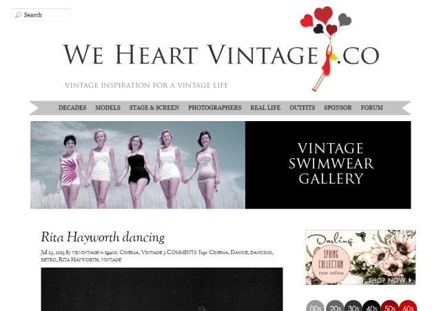 Featured BlogPad Pro blogger: We Heart Vintage